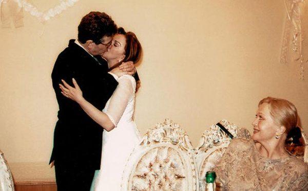 Свадебное фото Игоря Костолевского и Консуэлы Де Авиланд