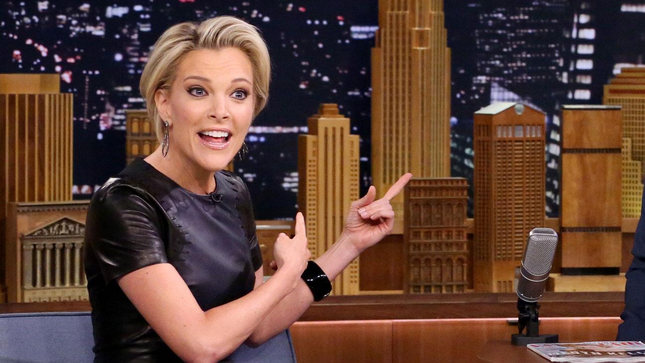 Меган Келли в телешоу на канале NBC в фото