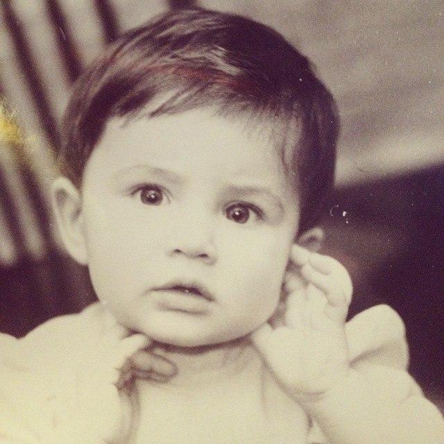 Анна Корсун в детстве на фото