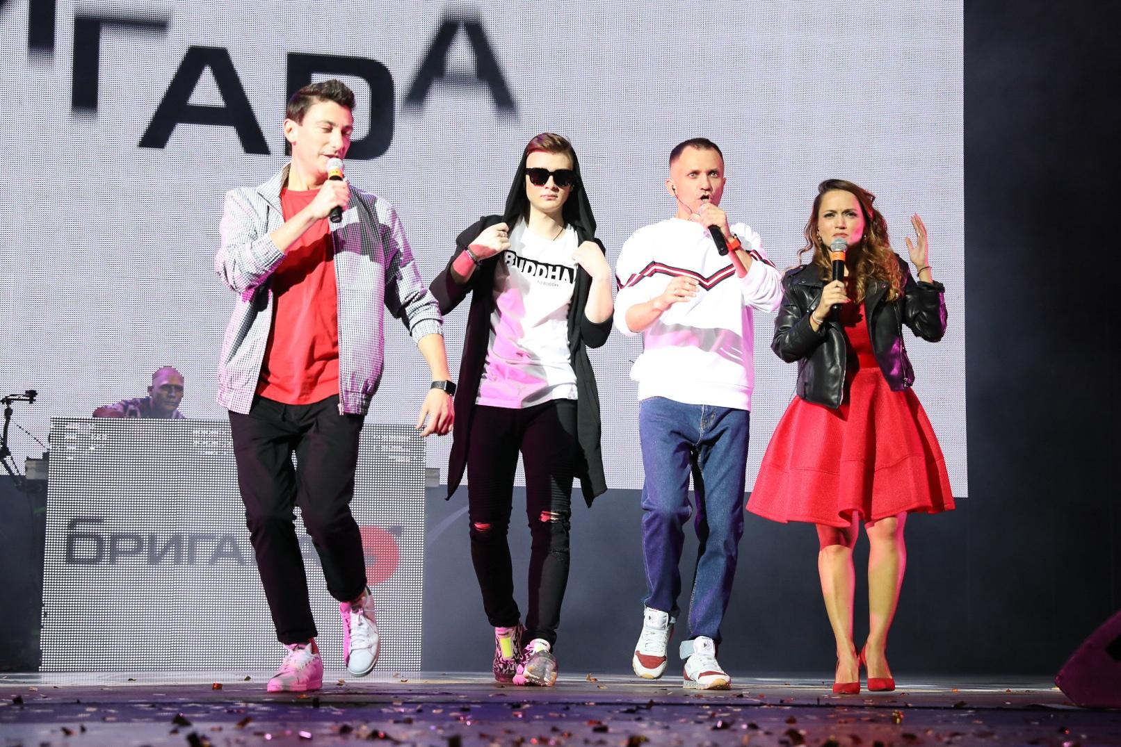 Роман Крылов ( Rompasso ) и Бригада У на фото