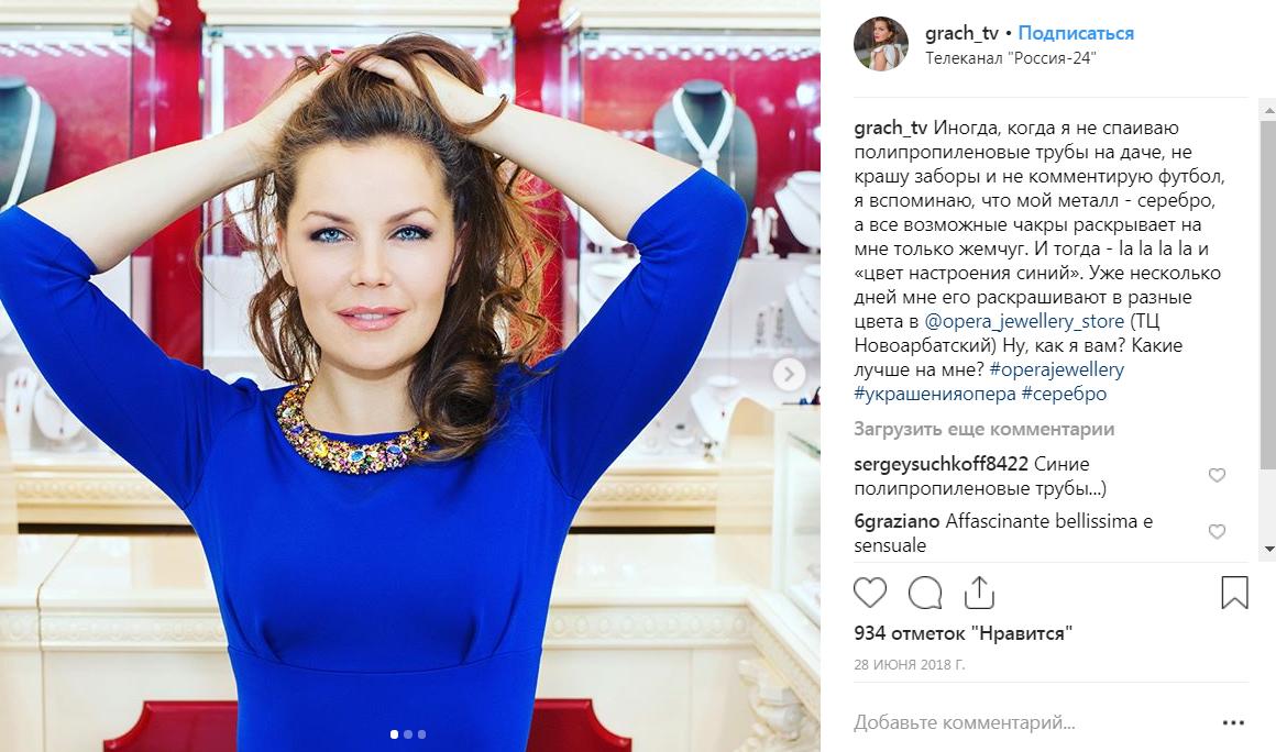 Екатерина Грачёва и ее карьера телеведущей в фото