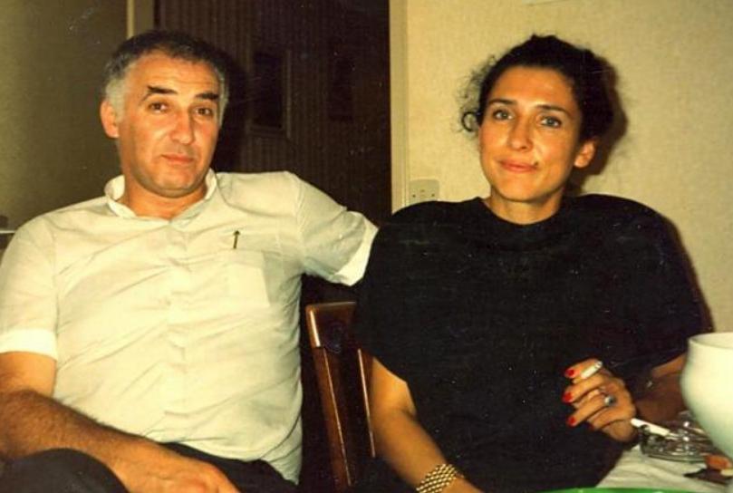 На фото Жанри Кашия и Саломе Зурабишвили