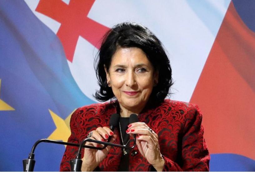 Саломе Зурабишвили и ее карьера на фото