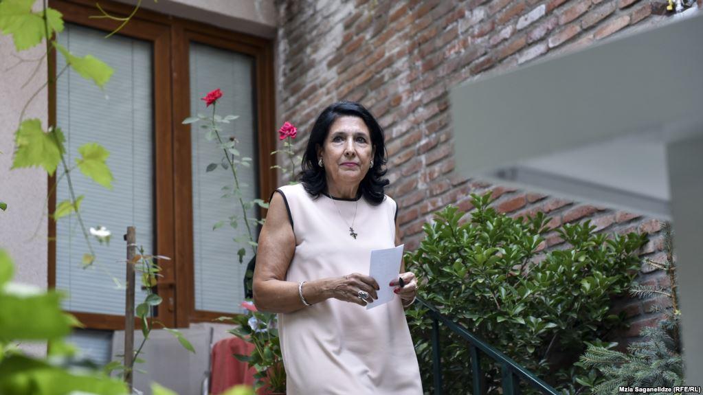 Саломе Зурабишвили жизнь политика в фото