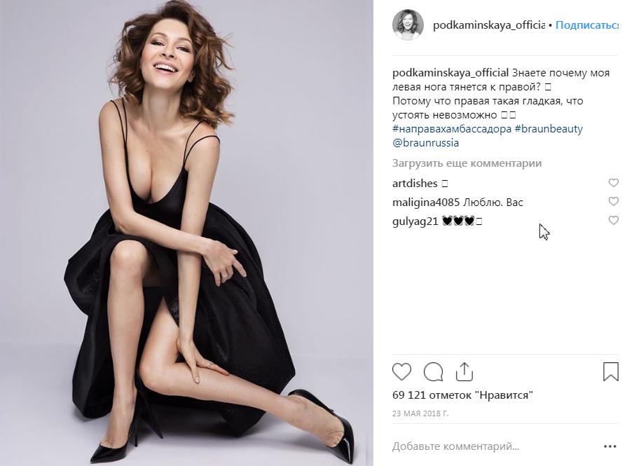 Елена Подкаминская и ее фильмография в фото
