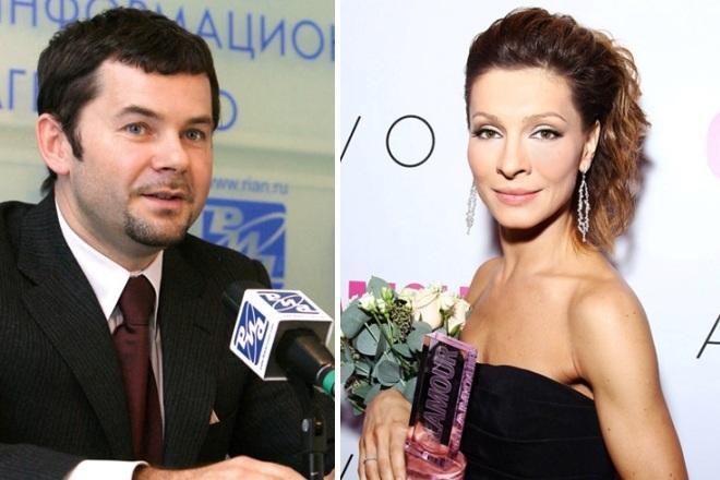 Александр Пляцев и Елена Подкаминская на фото