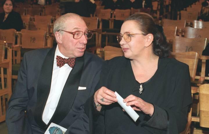 Сергей Юрский и Наталья Тенякова на фото