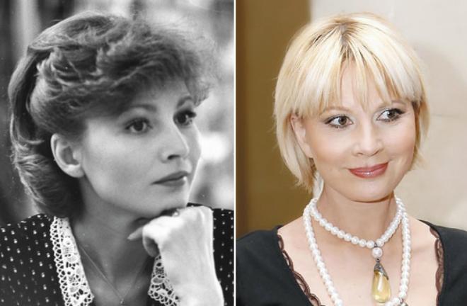 На фото Татьяна Веденеева в молодости
