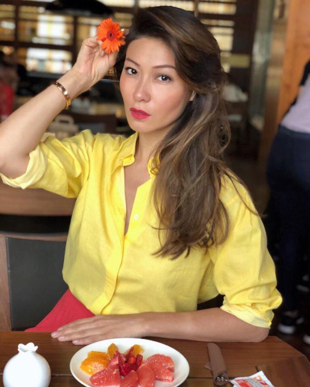 Телеведущая Марина Ким на фото